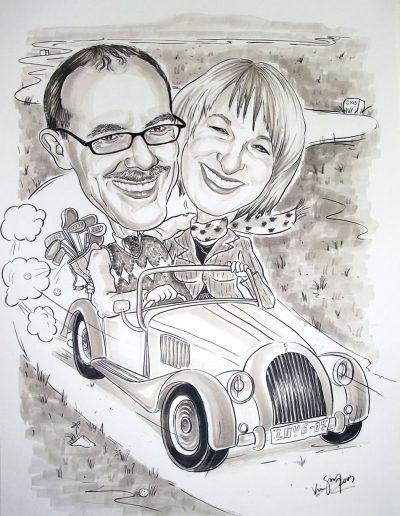 Karikatur-nach-Foto-IMGP1074-Mr-Kiss